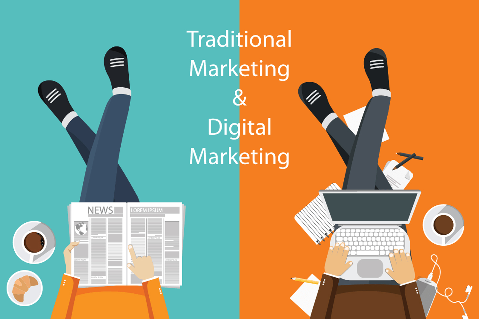 Keunggulan Digital Marketing vs Tradisional Marketing Keunggulan Digital Marketing vs Tradisional Marketing